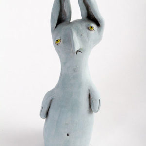 Art of Greenwood - Glum Bunny (Blue)