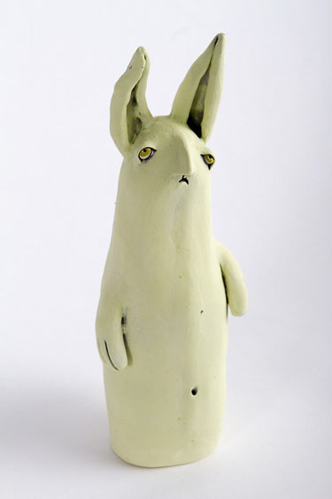 Art of Greenwood - Glum Bunny (Green)