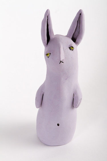 Art of Greenwood - Glum Bunny (Lavender)