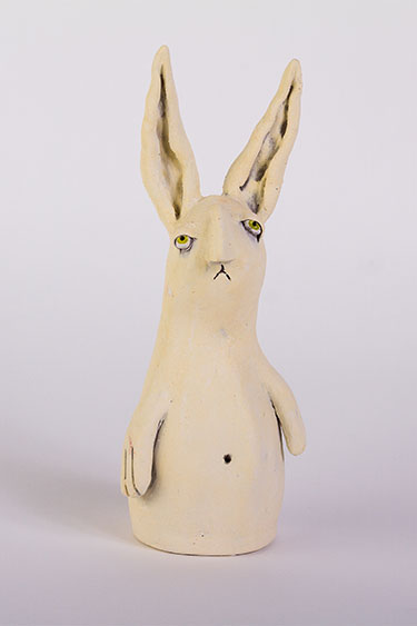 Art of Greenwood - Glum Bunny (Yellow)
